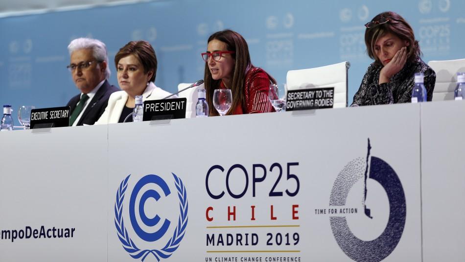COP25: La decepción de la ministra Schmidt y los acuerdos que se lograron en la cumbre medioambiental
