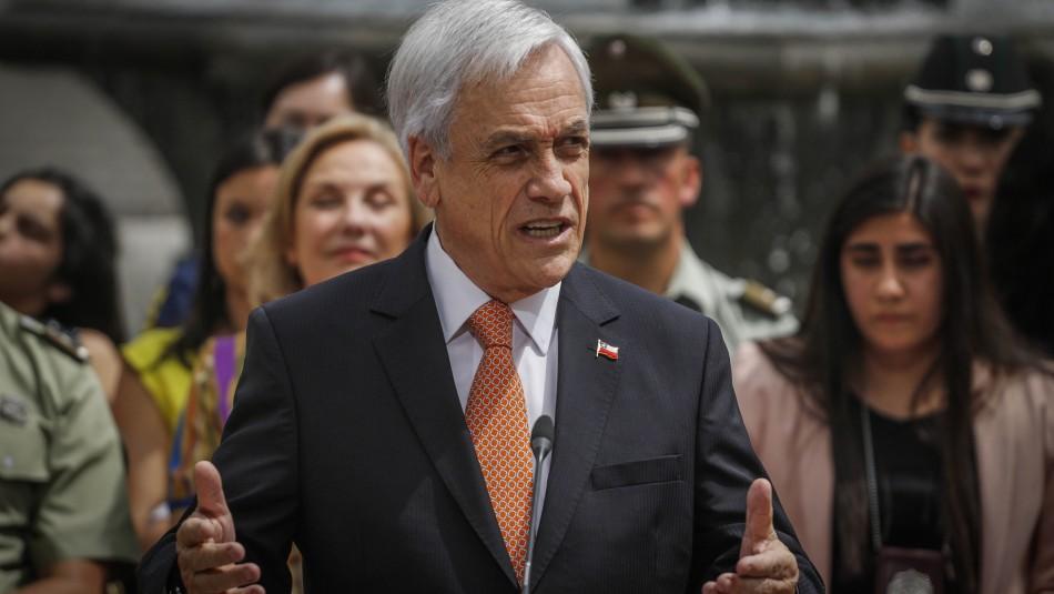 Piñera: El país sufrió un accidente y estamos tratando que este accidente no sea la normalidad