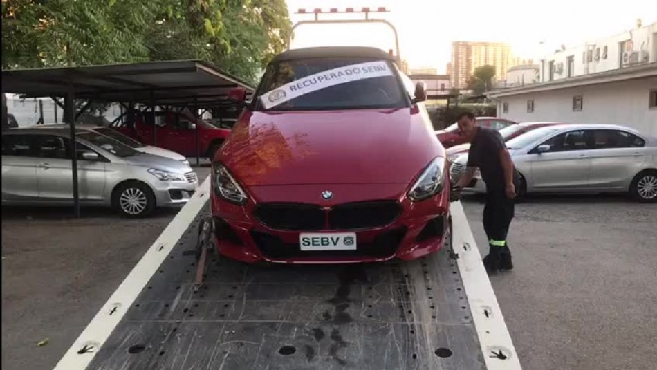 Encuentran en Conchalí vehículo que fue robado en