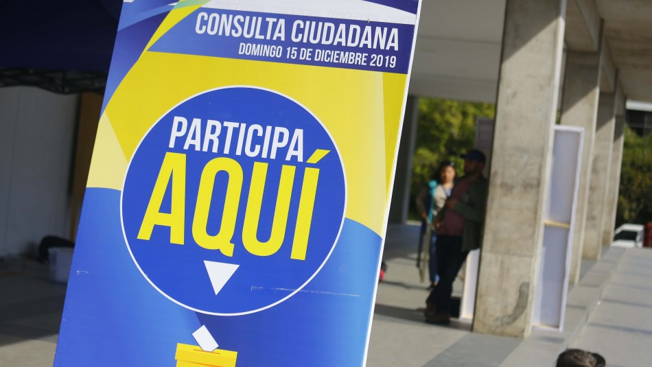 AChM da nuevo balance de consulta ciudadana: Más del 92% apoya una nueva Constitución