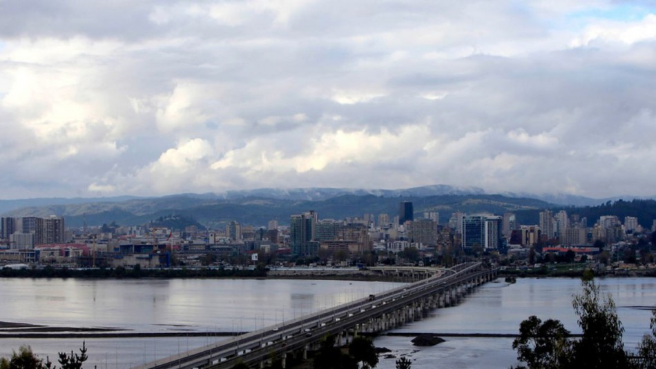 Concepción con sol entre nubes: Revisa el pronóstico del tiempo