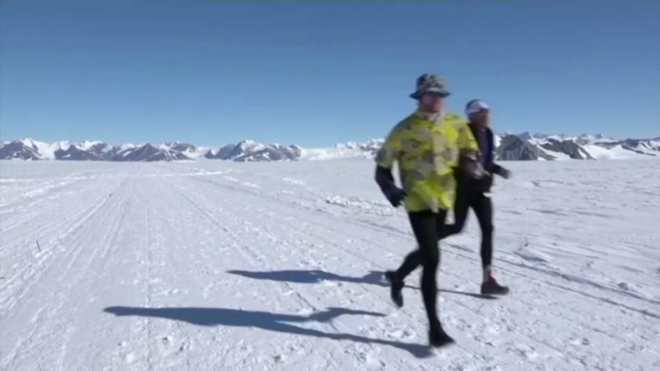Los récords que logró la maratón antártica
