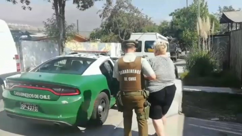 Detienen a mujer de 72 años por tráfico de drogas en Las Condes