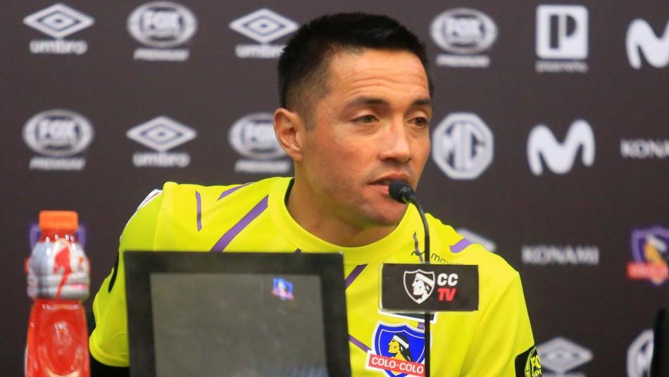 Pinto responde a Herrera en su presentación en Colo Colo: