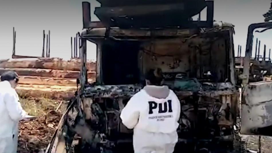 Nuevos episodios de violencia rural se registraron en La Araucanía y el Biobío