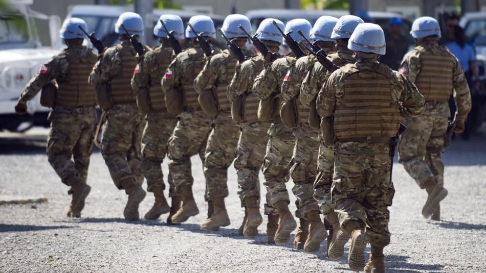 Haitianos en Chile por denuncia de abusos de militares chilenos: