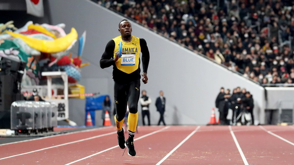La nueva figura de Usain Bolt.
