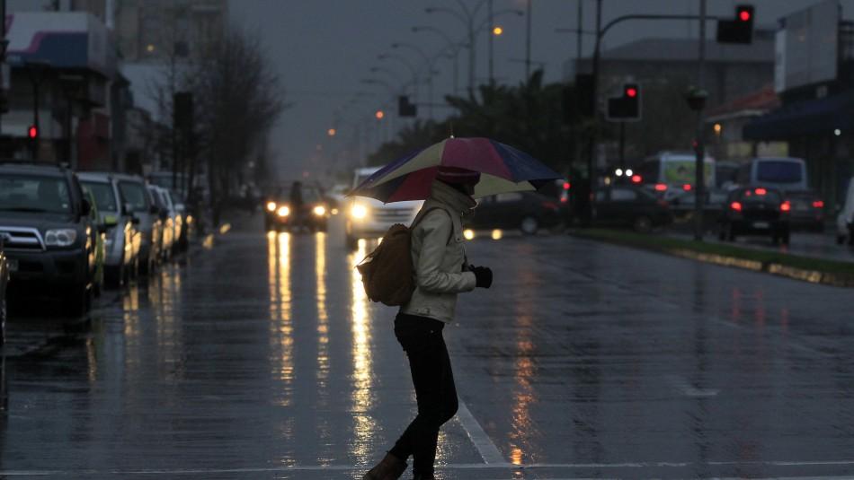 Concepción con chubascos matinales: Revisa el pronóstico del tiempo