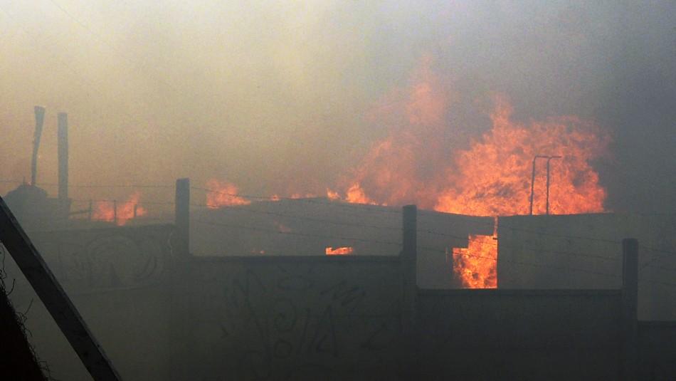 Comandante de Bomberos de Valparaíso: