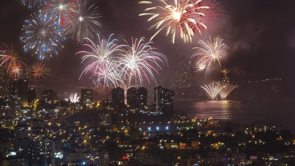 Las comunas que han confirmado que tendrán espectáculo de fuegos artificiales