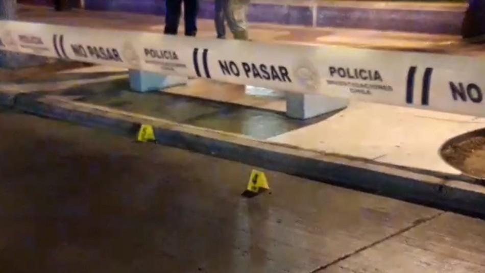 Persona fallece tras balacera cerca del casino de Viña del Mar
