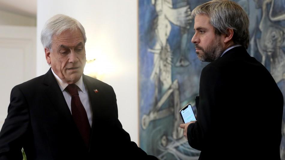 Blumel: Lo que dijo el Presidente es que hay mucha información de redes que es falsa