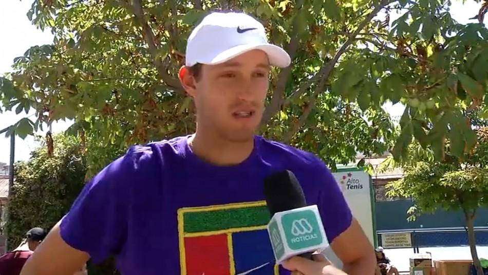 Nicolás Jarry se prepara para el ATP Cup: