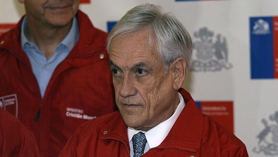 Cadem: Aprobación de Piñera continúa a la baja y mayoría apoya que sigan las marchas