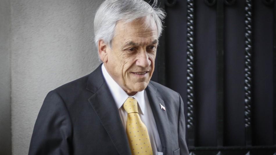 La Moneda confirma que Presidente Piñera se tomó lunes y martes de vacaciones