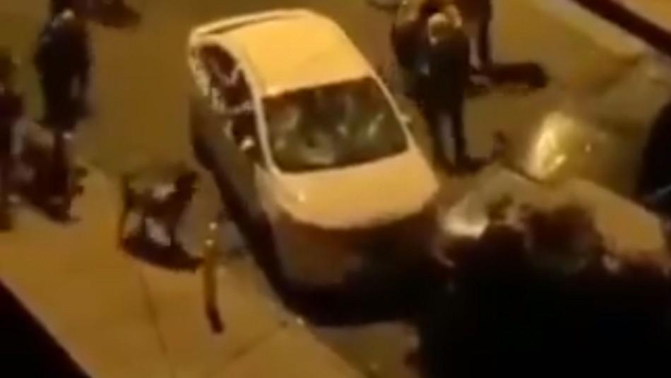 Fiscalía investiga ataque de manifestantes a carabinero en Antofagasta