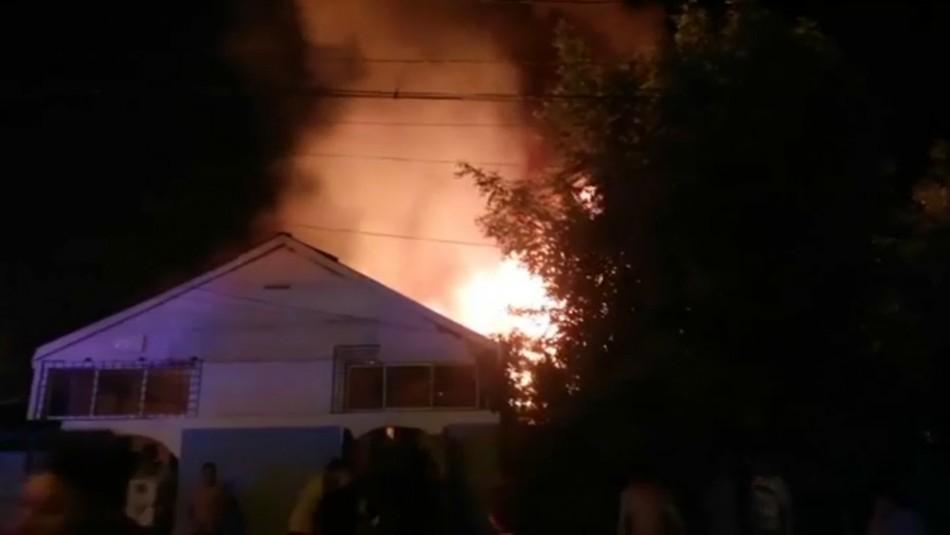 Vecinos por incendio que dejó 5 muertos en La Granja: