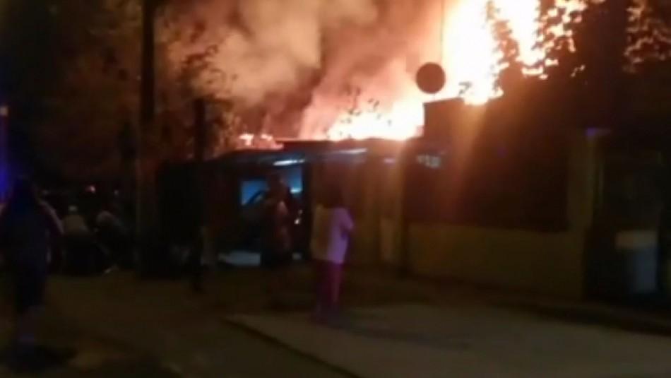 Fallecidos en incendio en La Granja pertenecían a la misma familia