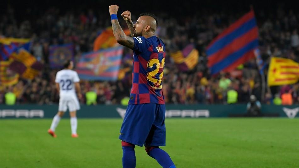 ¿Se queda? Arturo Vidal sacó comentarios con su publicación en redes sociales sobre Barcelona