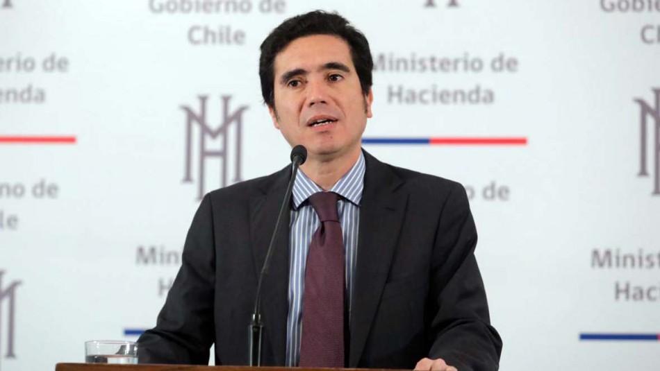 Ministro de Hacienda y caída en Imacec:
