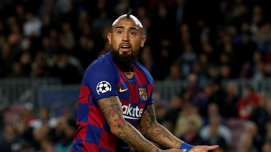 No admiten demanda de Arturo Vidal contra Barcelona por premios y bonos