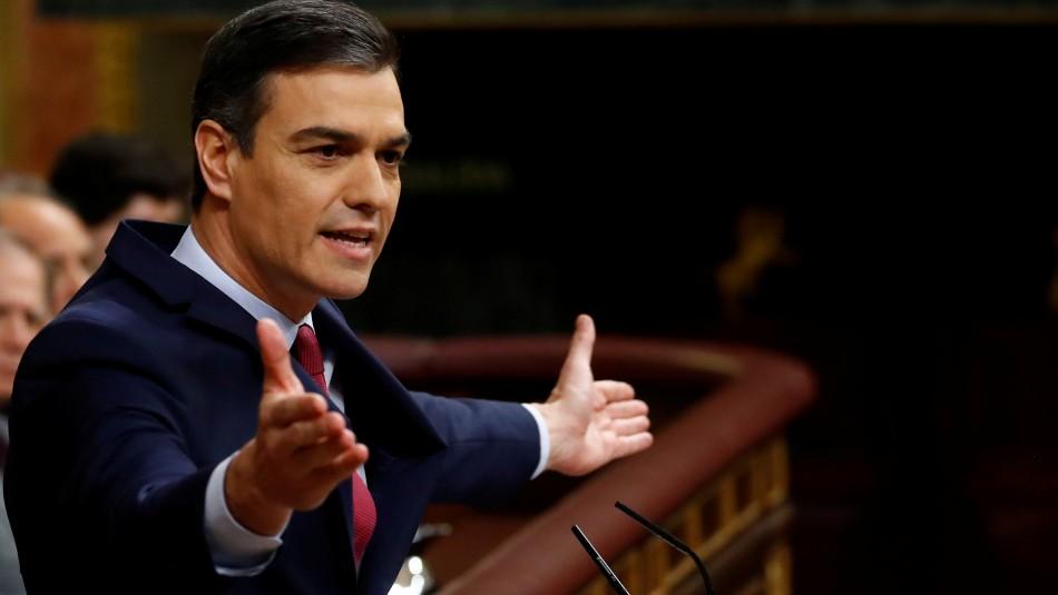 Pedro Sánchez es investido presidente por el Congreso de España en ajustada votación