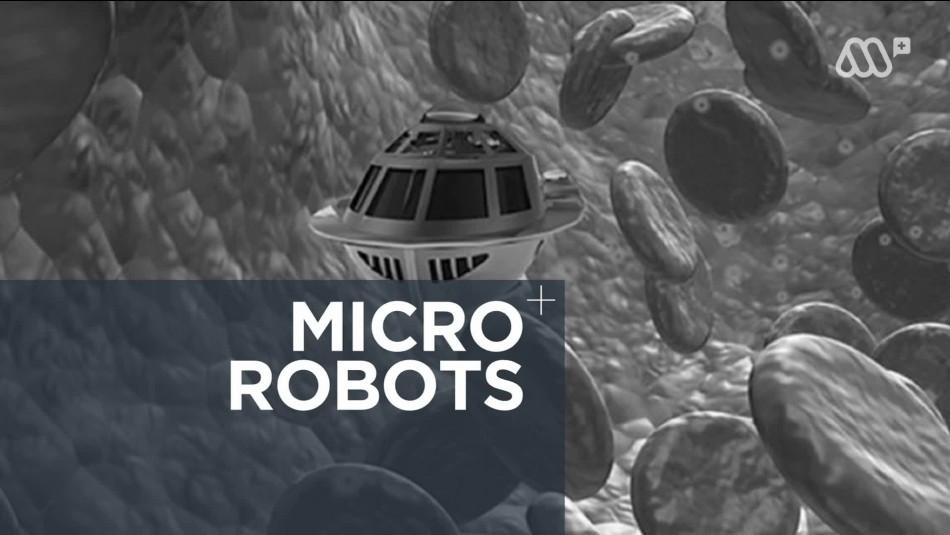 Científicos chilenos trabajan en el desarrollo de microrobots