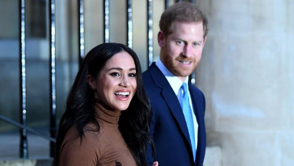 Quiebre en la familia real: Harry y Meghan dan