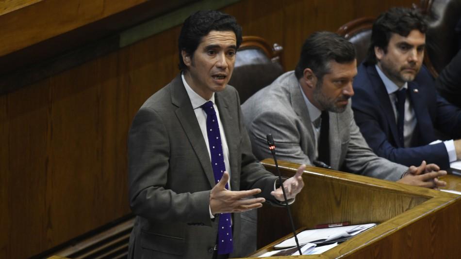 Interpelación a ministro Ignacio Briones estuvo marcada por pensiones y sueldo mínimo