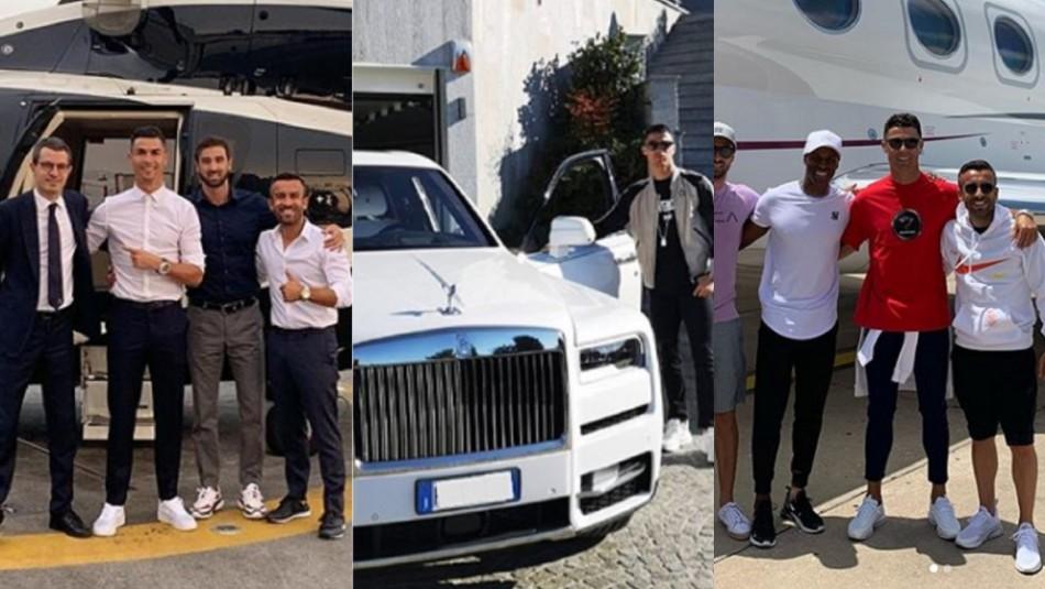 Reloj de $500 millones y mansiones en varios países: Los grandes lujos de Cristiano Ronaldo