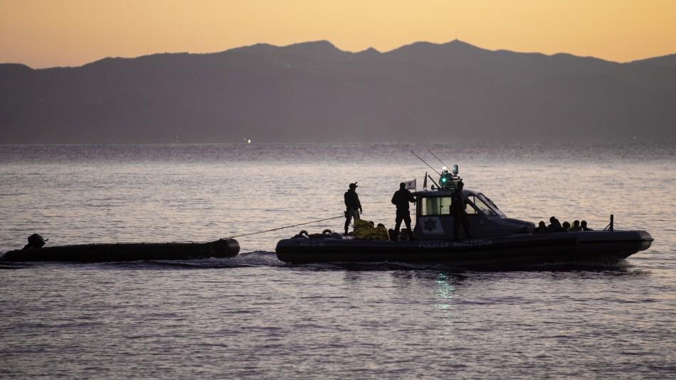 Al menos 12 personas mueren tras naufragio de barco con migrantes en las costas de Grecia