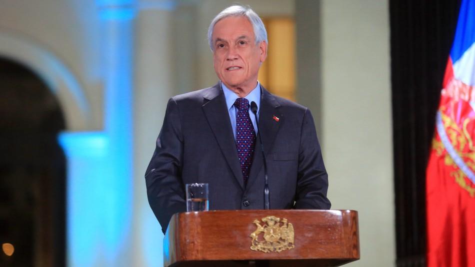Encuesta Ipsos: Presidente Piñera registra baja en su aprobación internacional