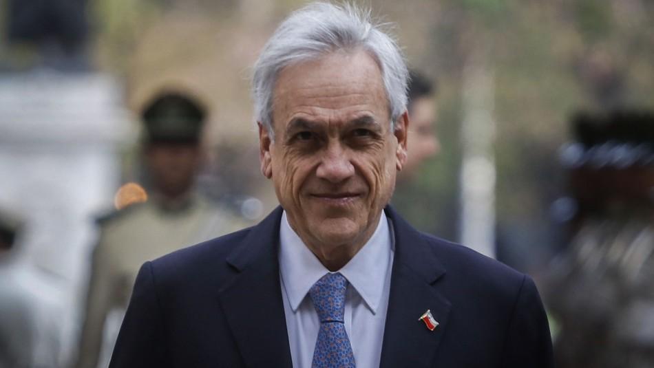 Presidente Sebastián Piñera valora aprobación de proyecto de ley antisaqueos en el Senado
