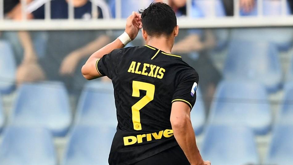 Alexis Sánchez podría volver a jugar tras 93 días alejado de las canchas