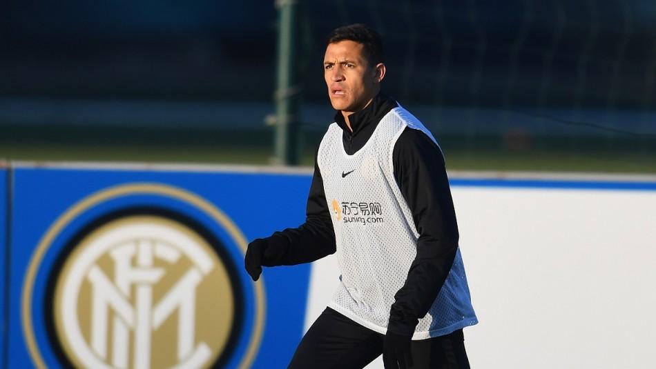 Alexis Sánchez busca volver a jugar en el Inter.
