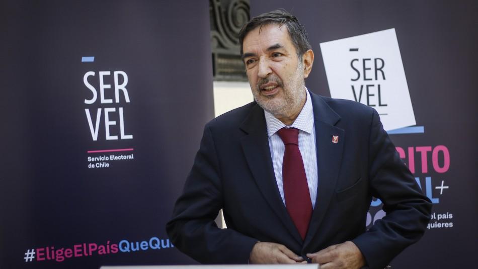 Presidente del Servel sobre el plebiscito tras funas a PSU: