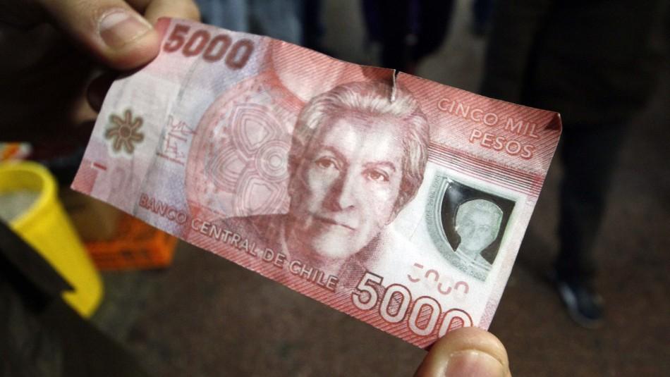 Sujeto es condenado a 541 días de cárcel por pagar con un billete falso en Chillán