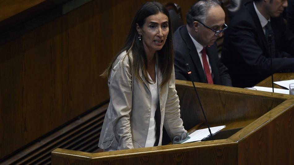 Ministra Carolina Schmidt tras interpelación por COP25: