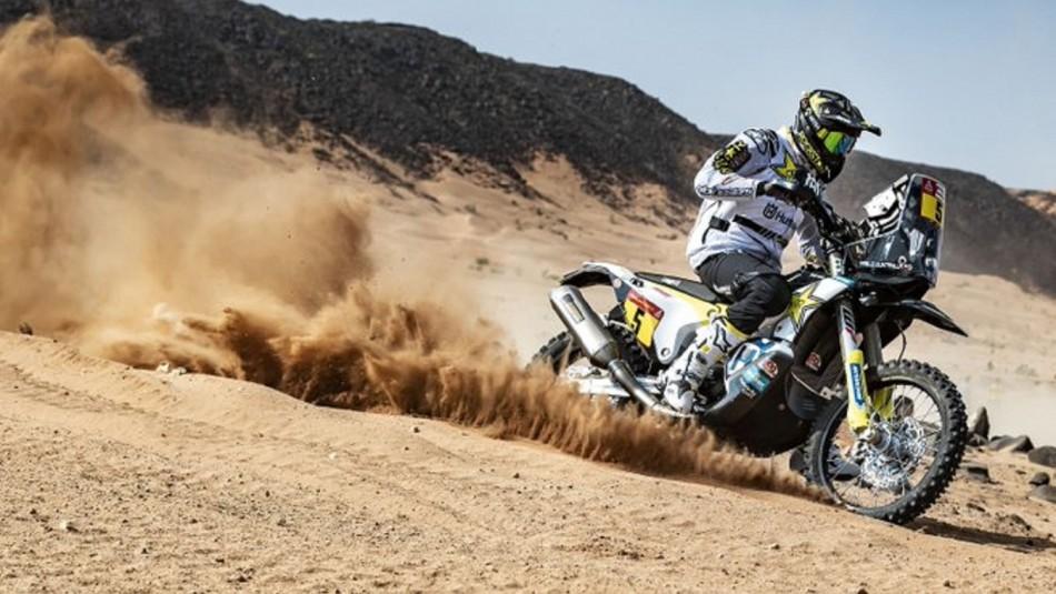 Pablo Quintanilla triunfa en motos.