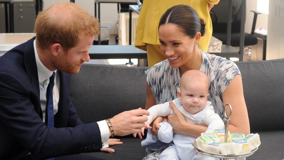 Reina Isabel II tiene la custodia de Archie, el hijo del príncipe Harry y Meghan Markle