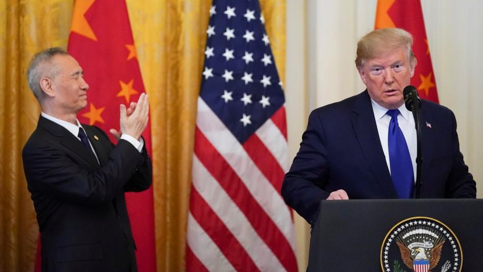 EE.UU. y China firman acuerdo parcial para poner fin a la guerra comercial