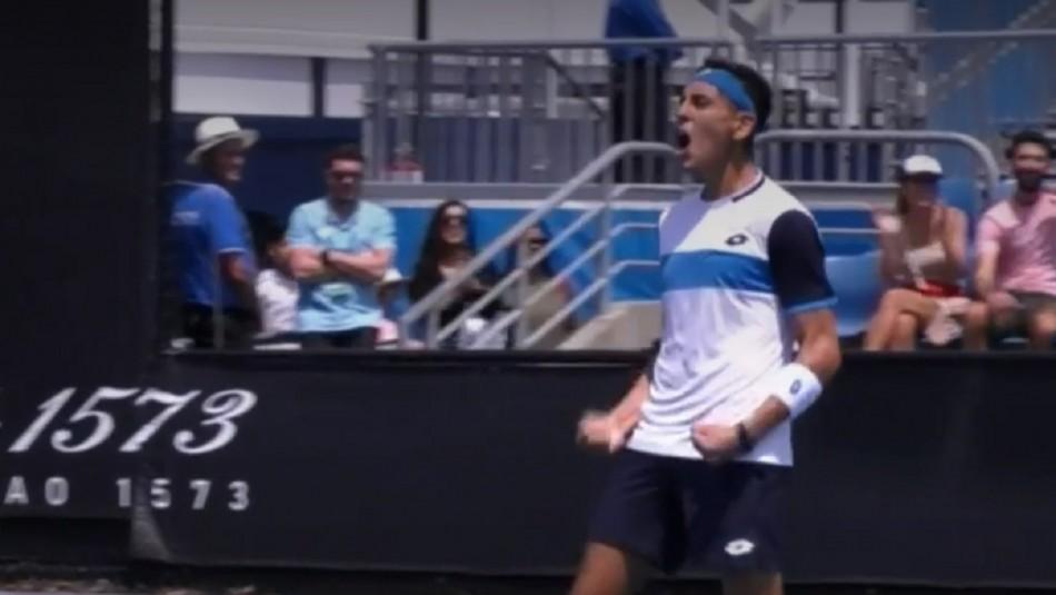 Alejandro Tabilo debuta en Australia.