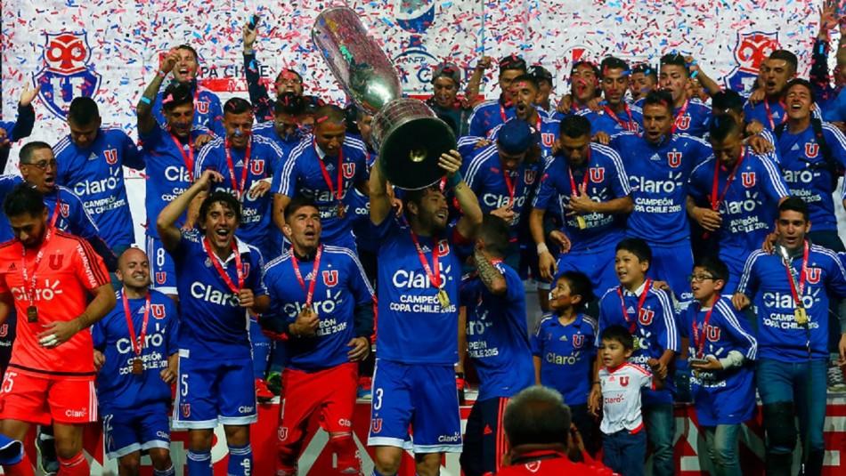 La U ganó la final 2015.