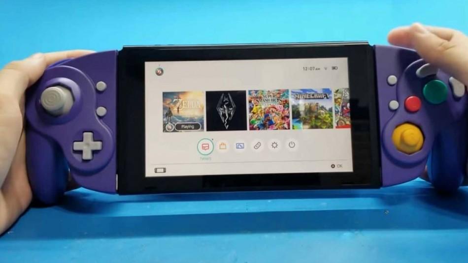 Crean nuevo control GameCube para Nintendo Switch