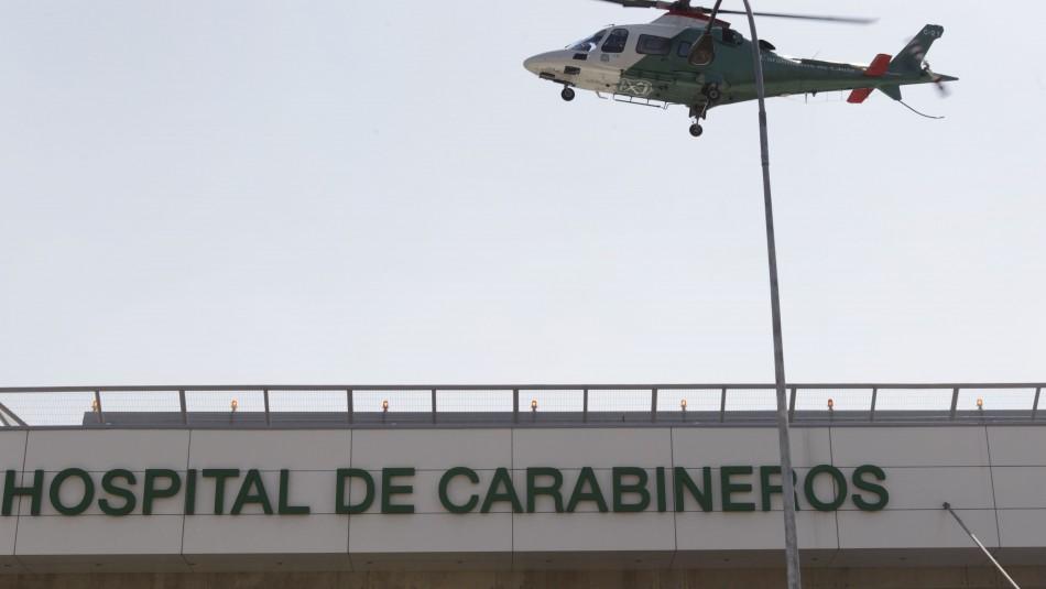 Cinco carabineros resultan heridos con perdigones tras ataque a comisaría en Peñalolén