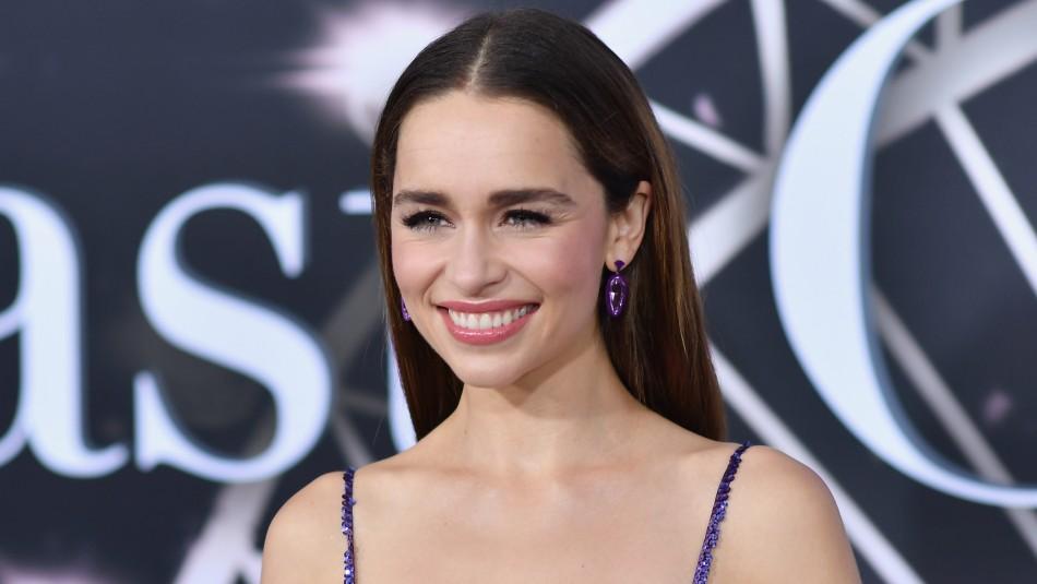 Emilia Clarke presentó a nuevo integrante de su familia: