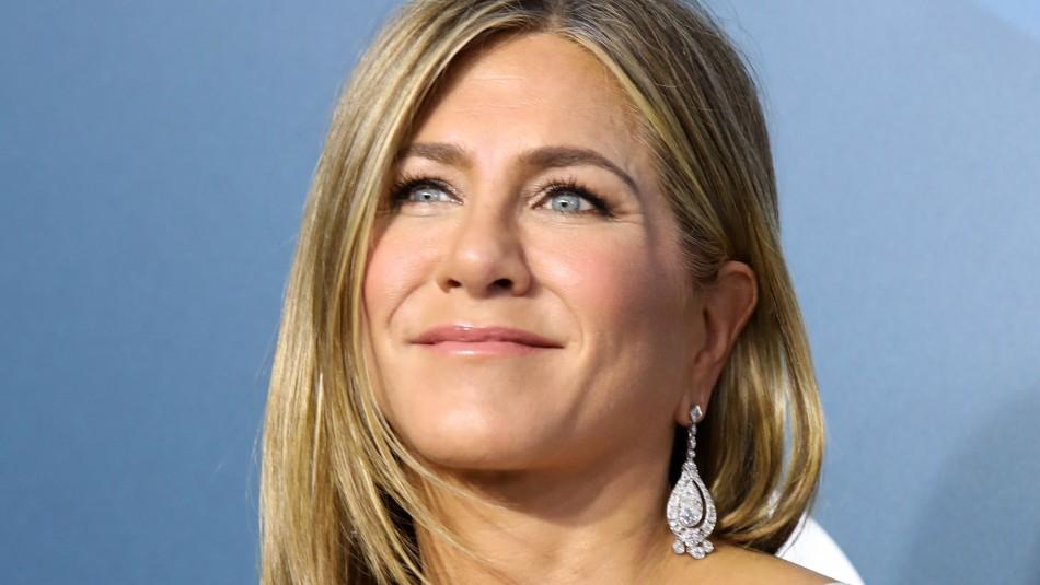 Jennifer Aniston reveló incómoda técnica para lucir el vestido que usó en los SAG 2020