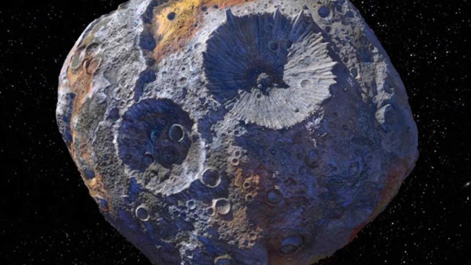 La NASA pone el ojo en un asteroide similar al corazón de la Tierra