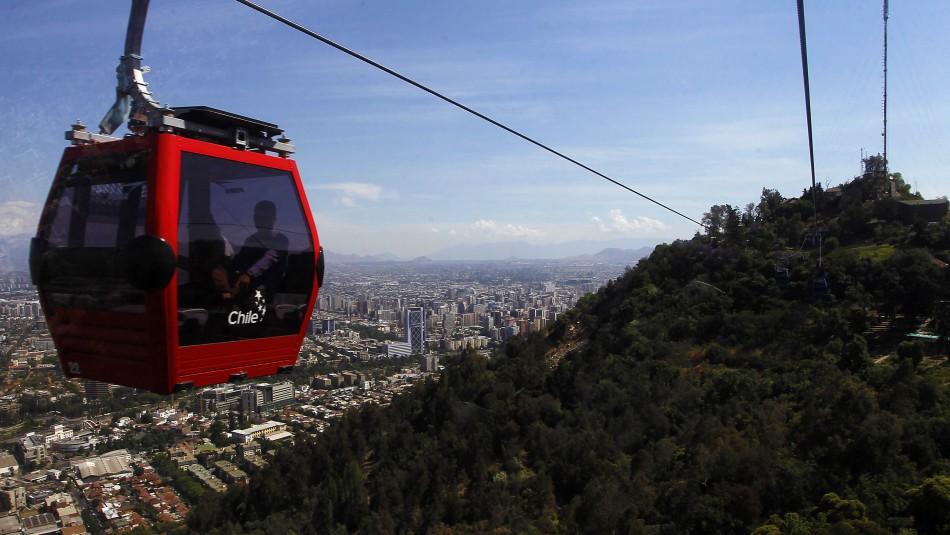 Teleférico de Santiago: Precios y horarios de la atracción turística del Cerro San Cristóbal