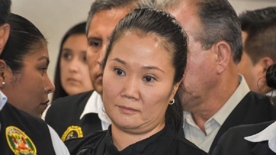 Caso Odebrecht: Keiko Fujimori vuelve a prisión tras dos meses en libertad